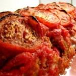 Tomatbagt farsbrød