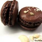 Mørke macarons med chokoladeganache