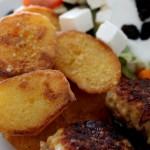 Sprøde, krydrede kartofler