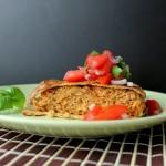 Lækker Quesadilla med Tomatsalsa