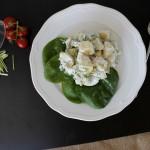 Lækker kartoffelsalat med hvidløg