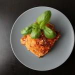 Lækker lasagne med spinat
